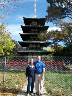 Steve and Linda at Pagoda in Longmont 19oct13